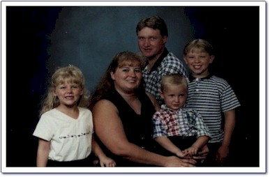 Chad and his family.